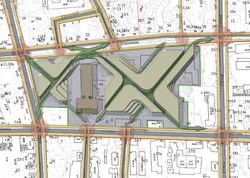 Схема пешеходных путей