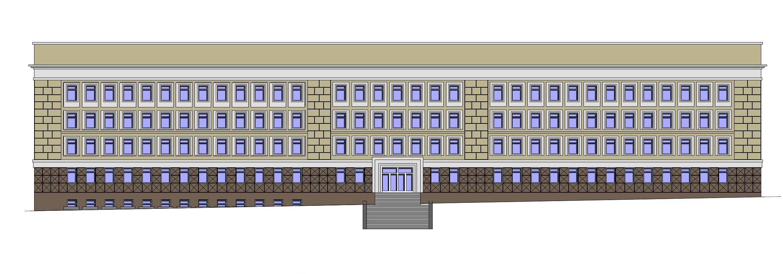 Главный фасад с Красного проспекта