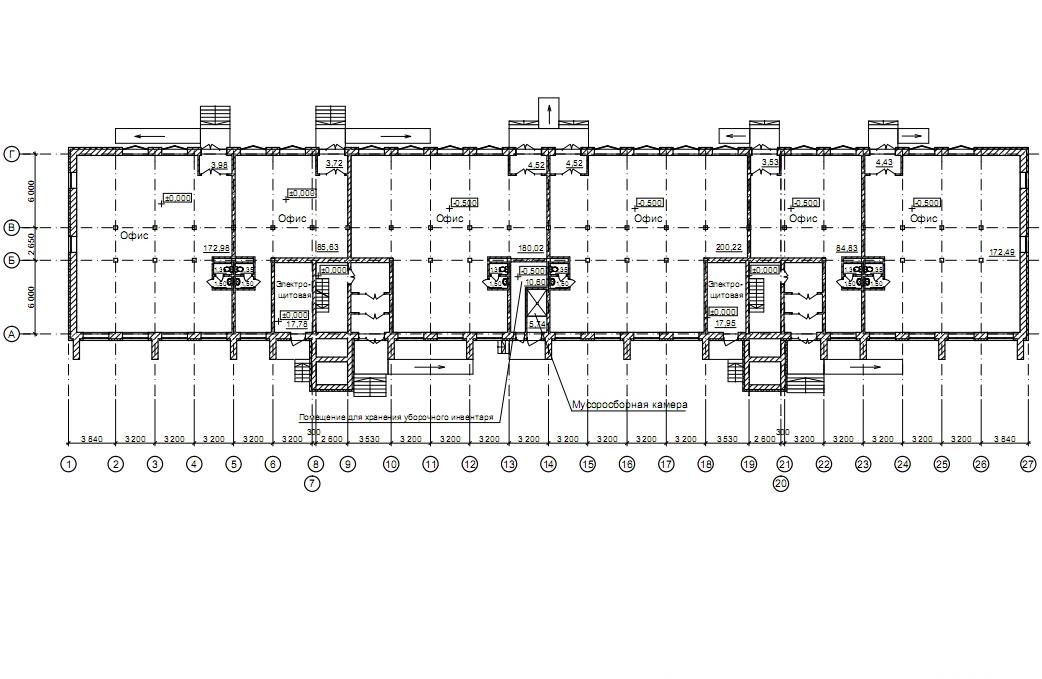 Залесского, 5,  план 1 этажа