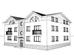 Вариант фасада