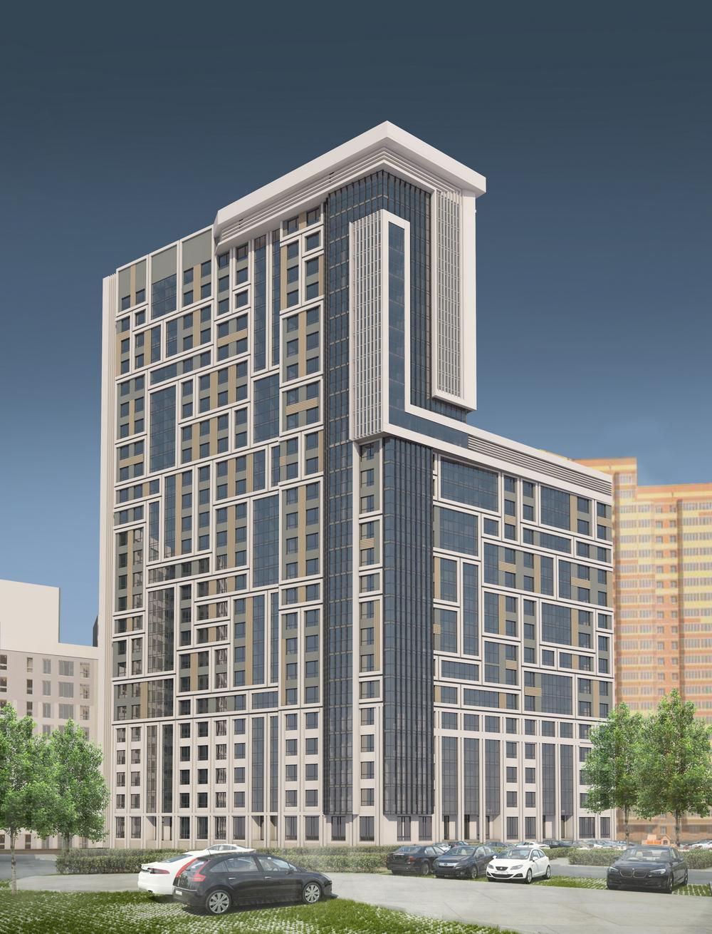 Современный вариант фасада