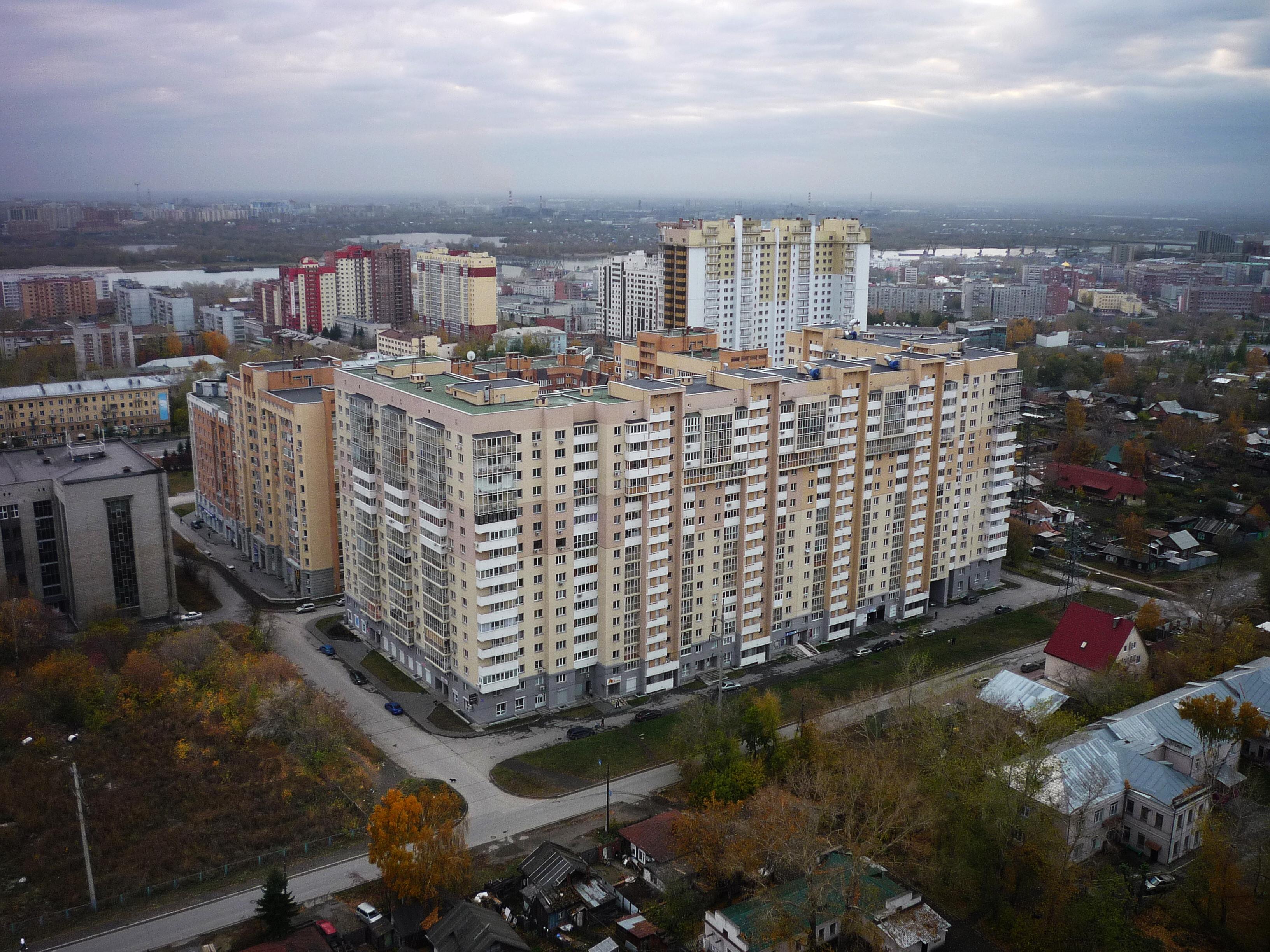 Вид с ул. Толстого