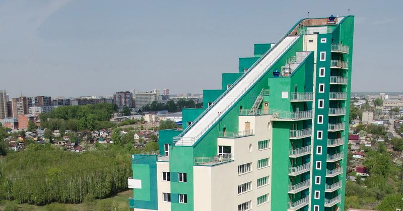 Вид верхних террас