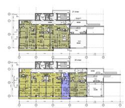 планы 20 и 21 этаж