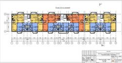 План 3-5 этажей на Танковой