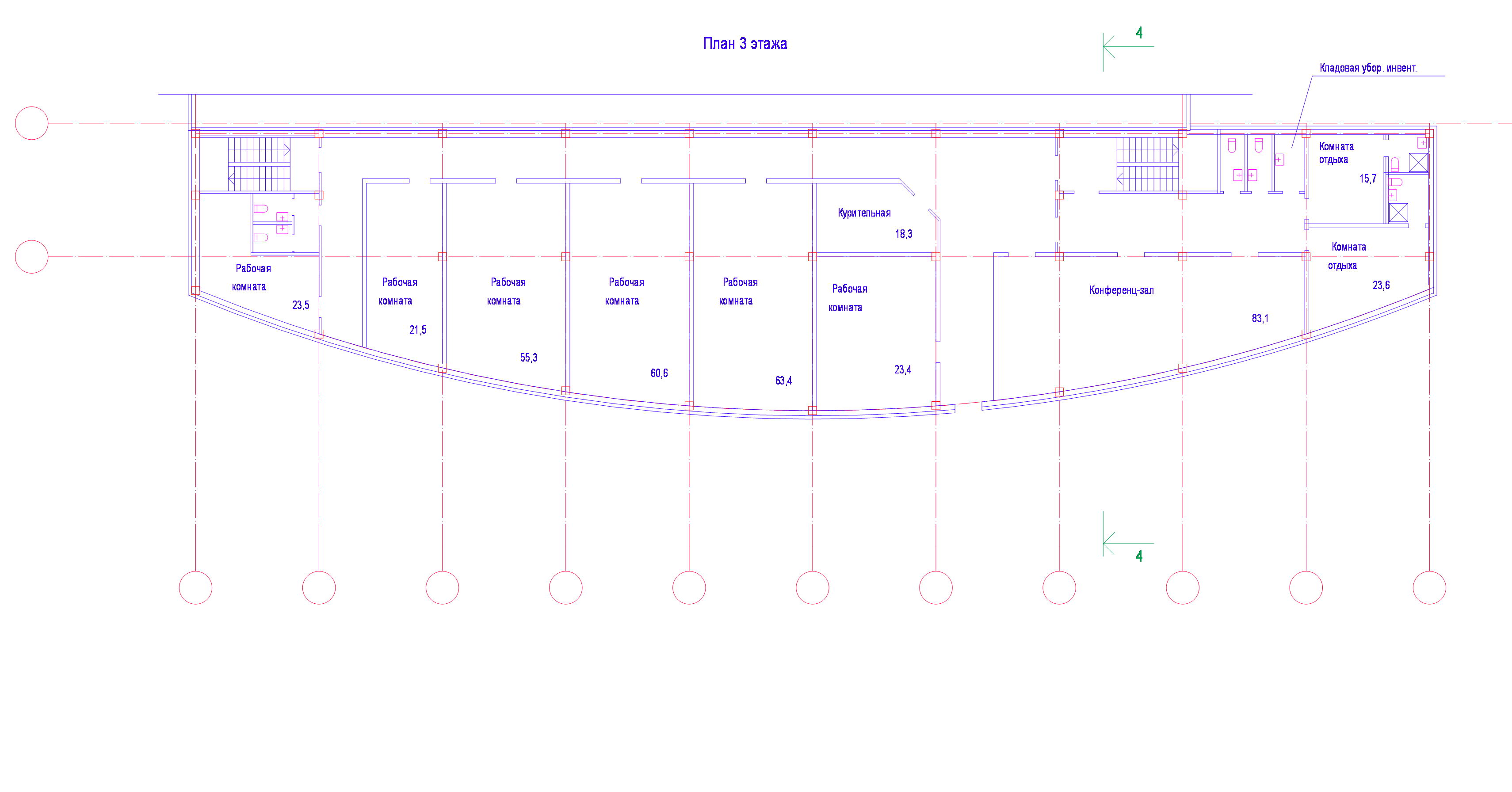 Планы  3 этаж 16 09 09