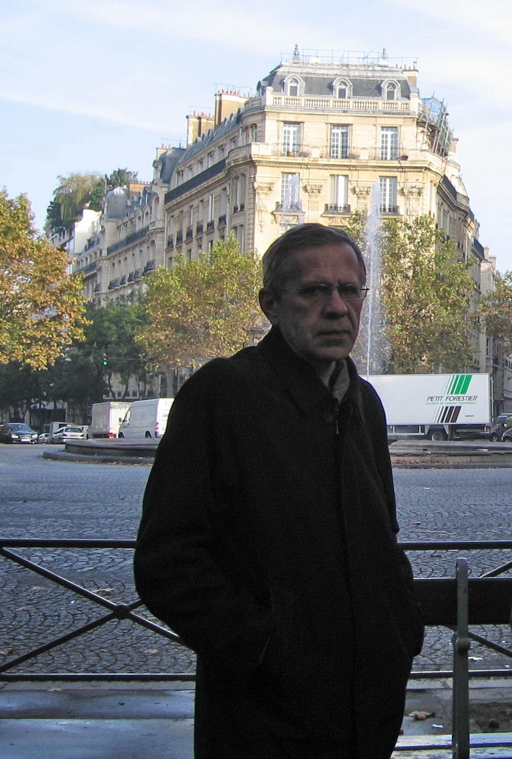 Наш ГАП на площади Виктора Гюго