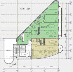 план 12 этажа