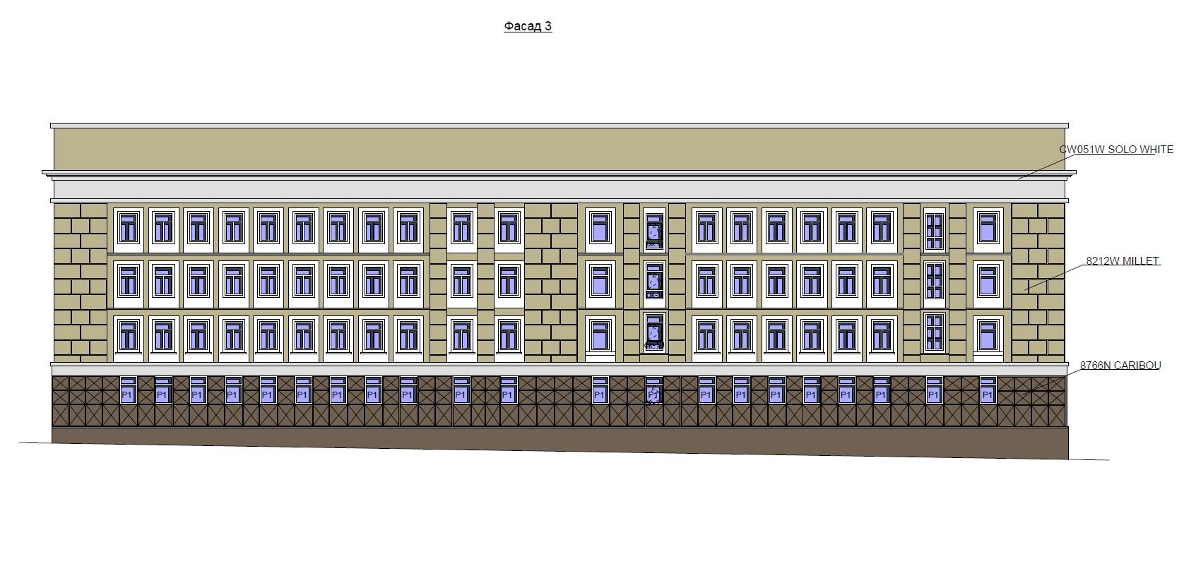 Фасад с ул Писарева