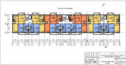 План 6-7 этажей на Танковой
