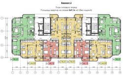 типовой этаж 2 вариант
