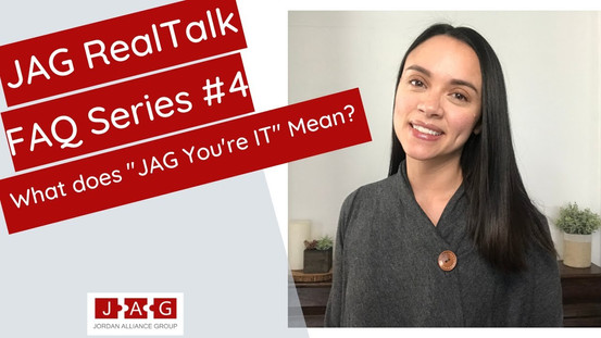 What Does JAG Yoy're It Mean?