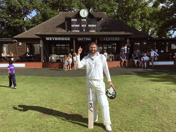 Doward smashes 66 ball ton at Weybridge