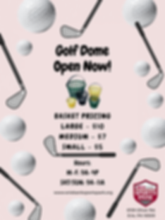 Golf Dome Open Now!.png