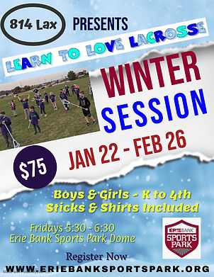 814 Lacrosse Winter Flyer - Made with Po