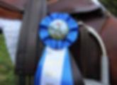 Saddle and 1st Place Ribbon