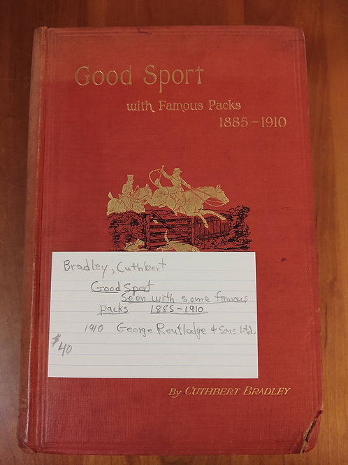 Good Sport With FamousPacks 1885-1910