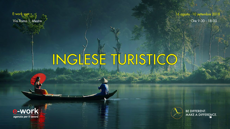 """""""Inglese turistico"""": corso gratuito presso E-work"""