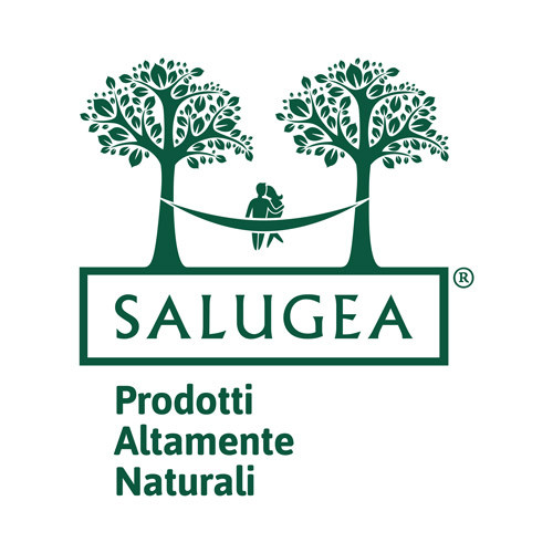 Salugea square logo on a white background