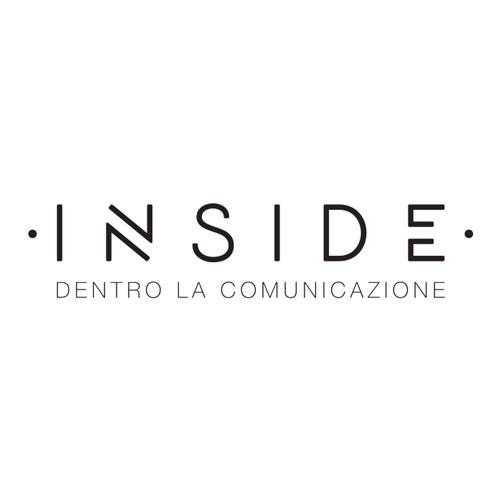 Inside - Dentro la comunicazione logo on a white background