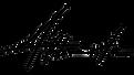 Logo nero di Alberto Carniel su sfondo trasparente.