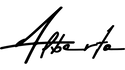 Alberto Carniel's black logo on a transparent background.