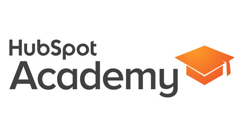 HubSpot Academy logo on a white background. HubSpot Academy provides marketing and sales education.