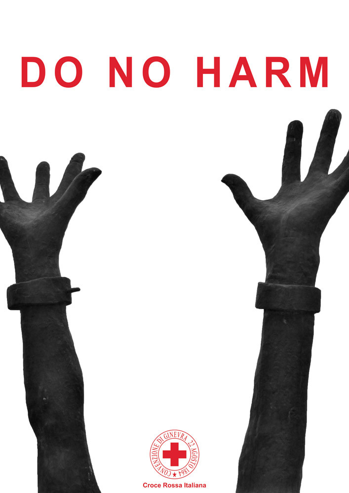 Do No Harm conference's front page of the flyer