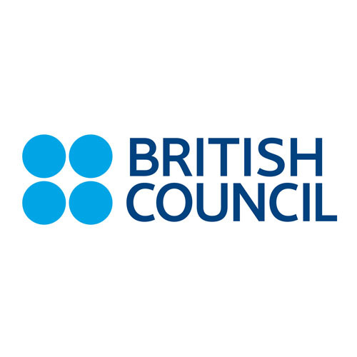 British Council's square logo on a white backgrounds.