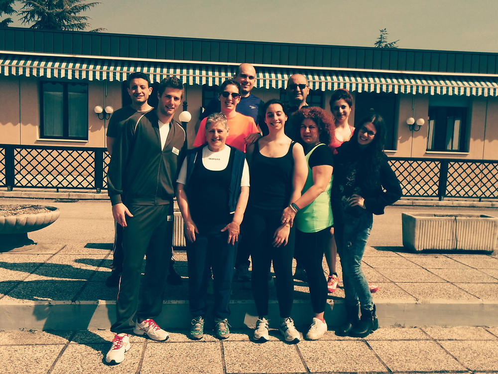 Group photo of the participants of the Red Cross Gorilla project