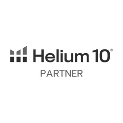 Helium 10 partner badge