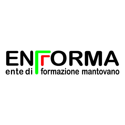Enforma (Mantuan Educational Institution) square logo on a transparent background