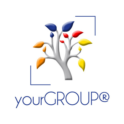 yourGROUP square logo on a white background
