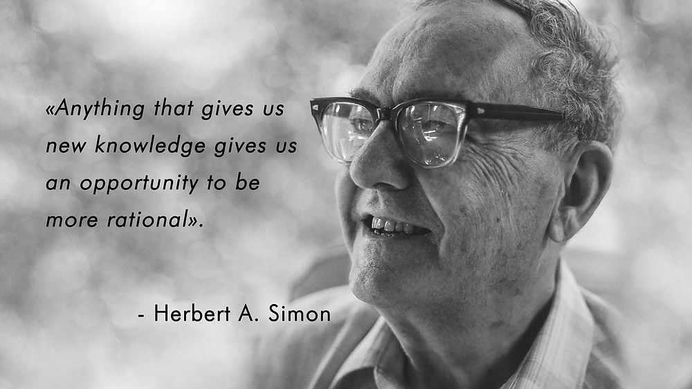 Bounded rationality by Herbert Simon
