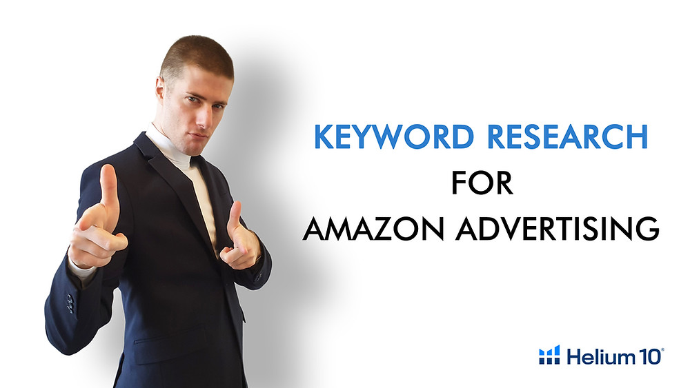 Keyword research for Amazon Advertising