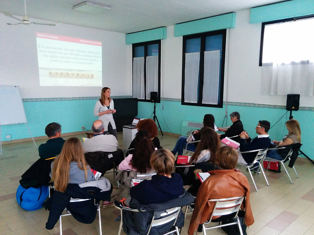 Gorilla project's coaching session with the life and business coach Paola Tambuscio