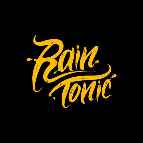 Digital agency Rain Tonic's square logo on a black background