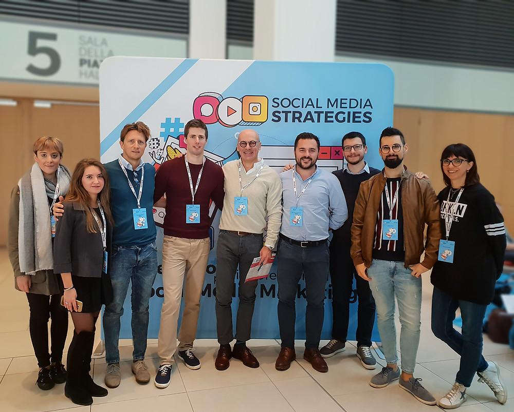 Inside Comunicazione digital marketing team