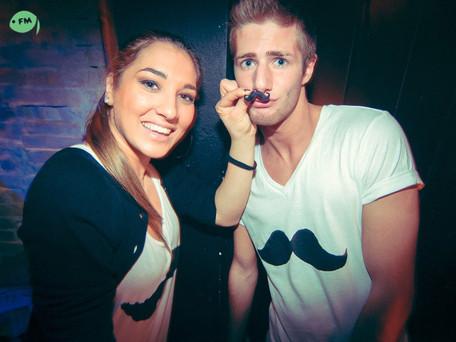 Fishmarket Club mustache party theme night