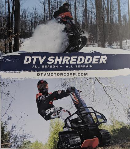 Ride in dirt, snow, mud & more