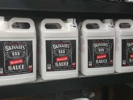 In Stock: Skinnies Skreecret Sauce