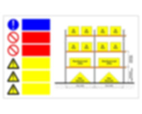Rackaware Rack Signage - Safe Working Load Notice