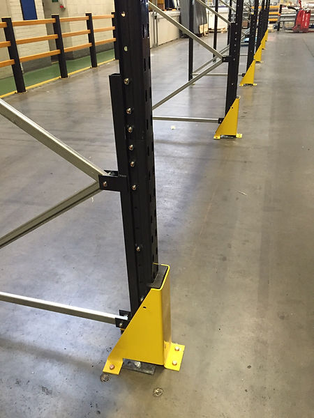 Column Guard Racking Protection