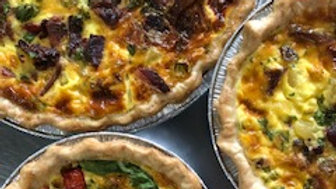 Bacon Cheddar Quiche - Full Size
