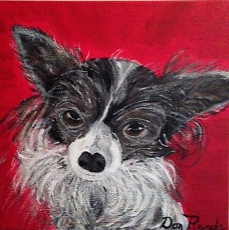 Don Rands' portrait of Lily