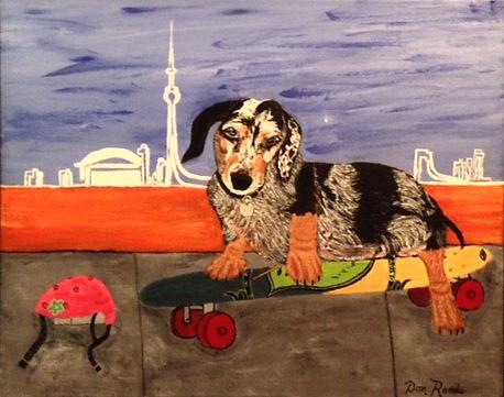 Don Rands' portrait of Daisy