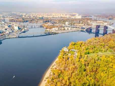 Полеты на самолете в Киеве осенью