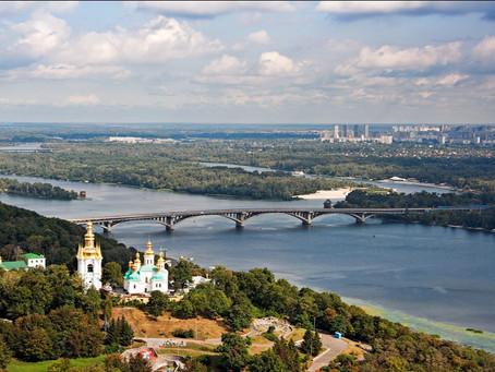 Полет над Киевом на Аэродроме Чайка
