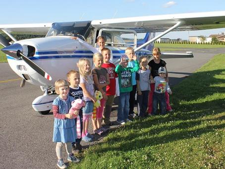 Полет на самолете и вертолете для детей