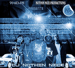 Dj Nothin Nice Hurricane Season Promo Cover from Nothin Nice Designs